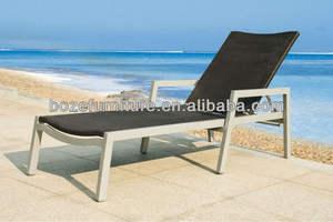 Swimming pool chaise lounge /garden lounger chair,rattan day bed,garden  beachesBZ-C008