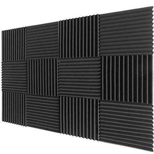 12*12*1'' inches Studio Foam Wedges Soundproofing Size can be Choose