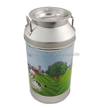 Factory Food Grade Round Box 100g 500g 900g Milk Powder Tin / Tea Tin Can /Candy can Size Diameter 91 x H 178 mm