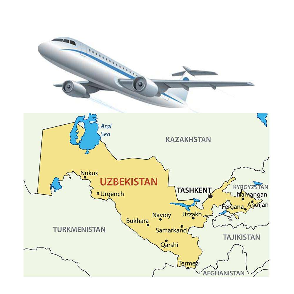 Air cargo shipping from China to Uzbekistan