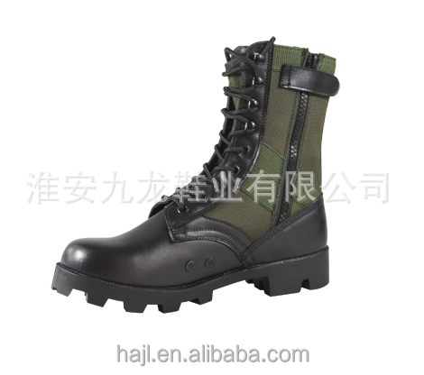 Military army police Boot detail boots SWAT boots