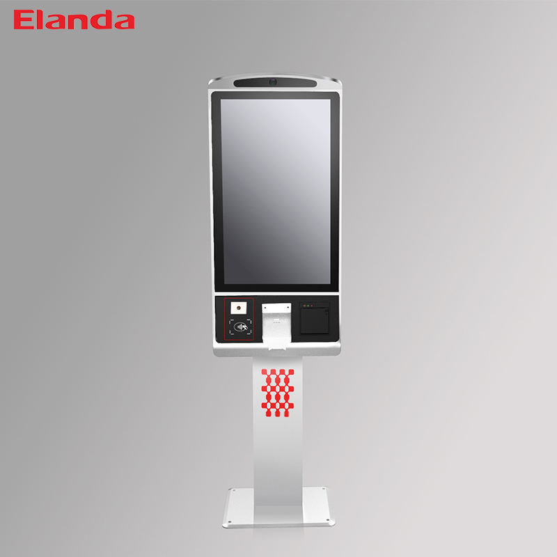 32 Inch Fast Food Touch Screen Kiosk Self Service Payment Terminal Kiosk