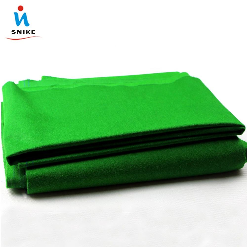 Simulated 6811 Billiards Table Snooker Cloth 100% Import Wool