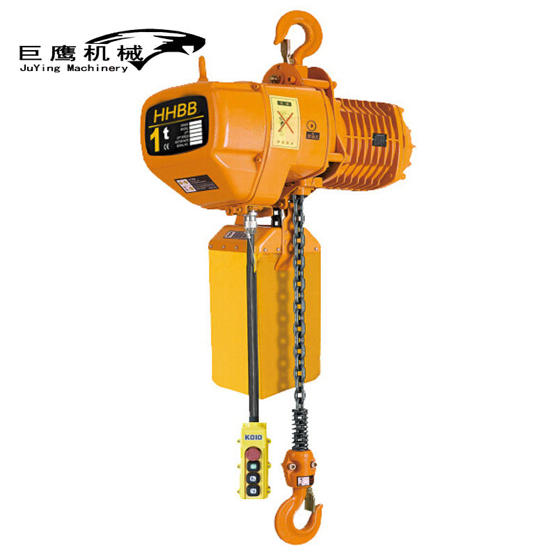 High quality HHBB type electric chain 4 ton crane hoist for sale