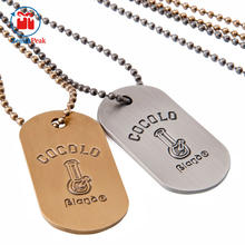 Wholesale Blank Metal Pet Tags Aluminum Dog Tag,sublimation dog tag necklace
