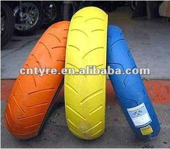 Color motorcycle tyre 350-18 & 400-18
