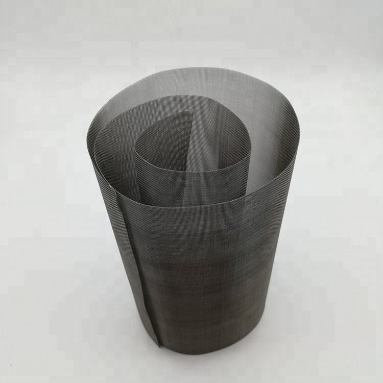 Corrosion resistance and electric conductivity graphite black molybdenum wire mesh screen