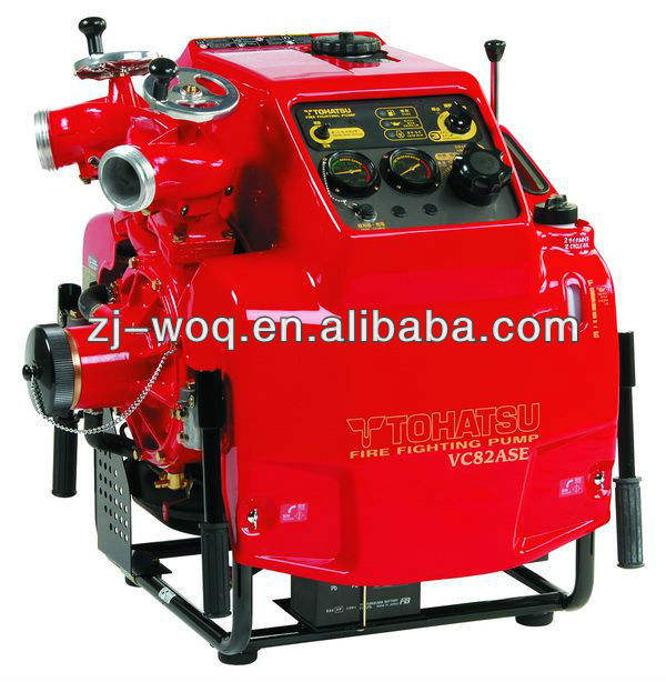 VC82ASE tohatsu fire pumps with engine