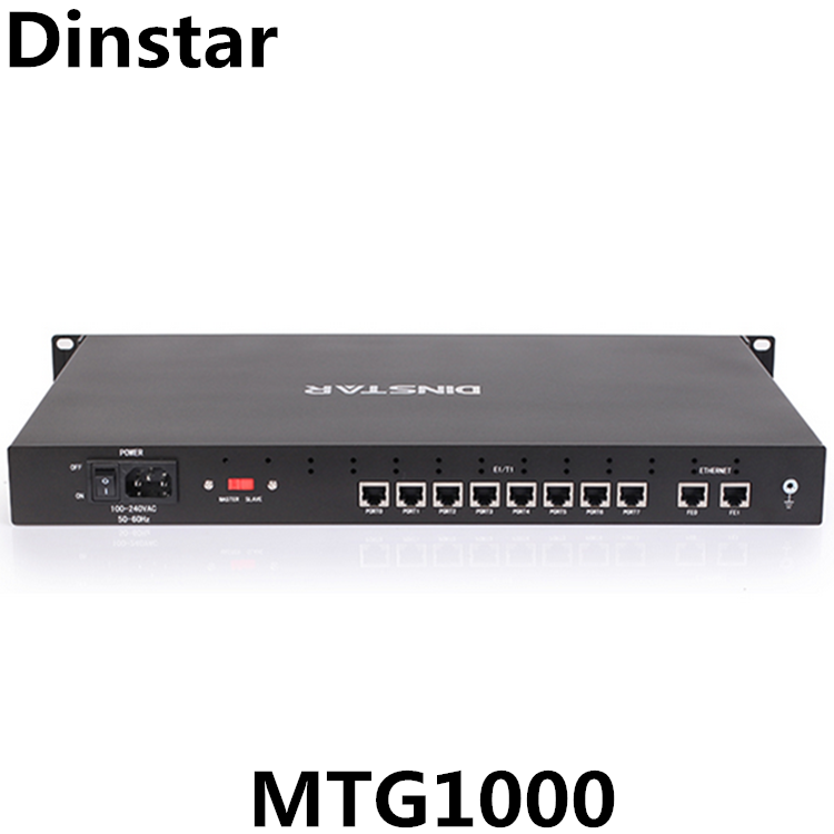 8 E1/T1 Port E1 T1 Asterisk SIP Trunk <span class=keywords><strong>VoIP</strong></span> Gateway MTG1000