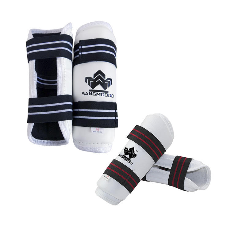 PU Leather Custom Color And Logo Taekwondo Body Shin Guard