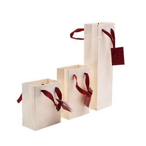 Wholesale Printing Customised Jewelry Gift Shopping Paper Bag With Logo