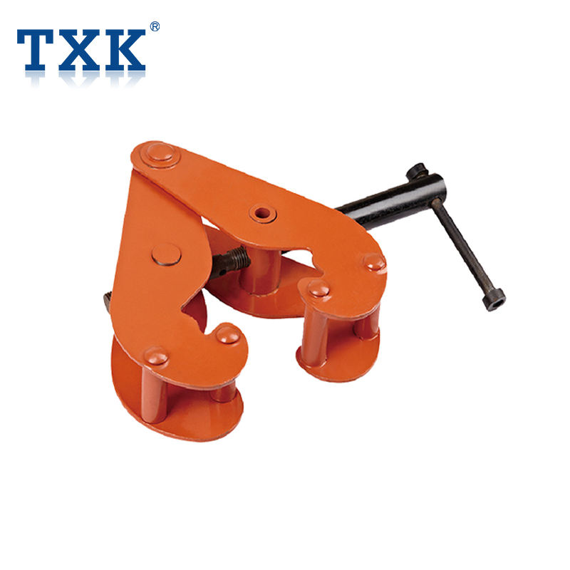 TXK Universal Steel Lifting Beam Clamp with Shackle