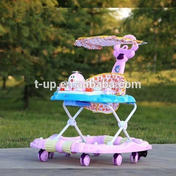 Wholesale plastic 360 degree rotating baby walker made in china