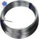 China hot dip / electro galvanized iron wire material for coat hanger bright and clean surface