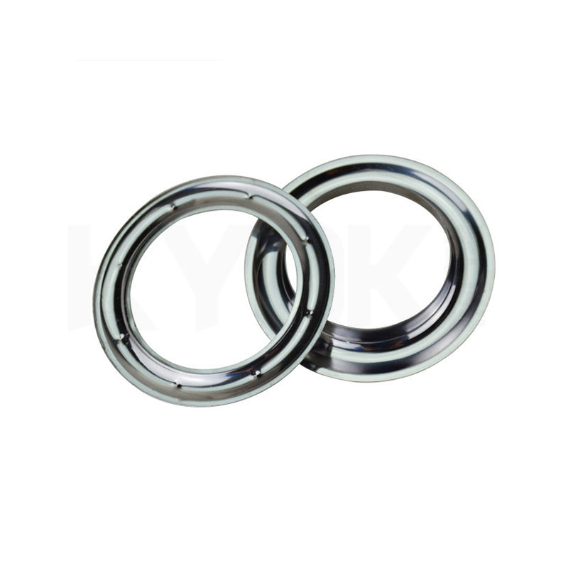 KYOK Curtain Ring Accessories Stainless Steel Metal Curtain Eyelet Metal Rings for Curtains Tape Eyelets 60 Mm Grommet