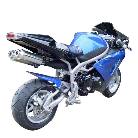 New design 4 stroke 110cc 125cc pocket bike for sale