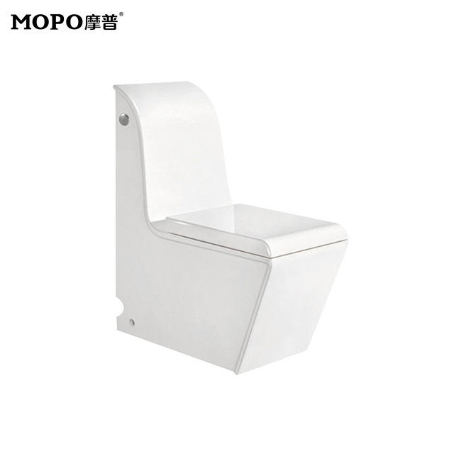 Toilet Accessories Western Seat for Indian Rimless One Piece Water Saving Toilet