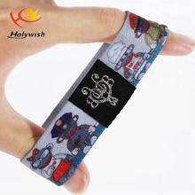 Novelty Items Double Sided Carton Graphics printed Elastic Bracelets No Minimum Order