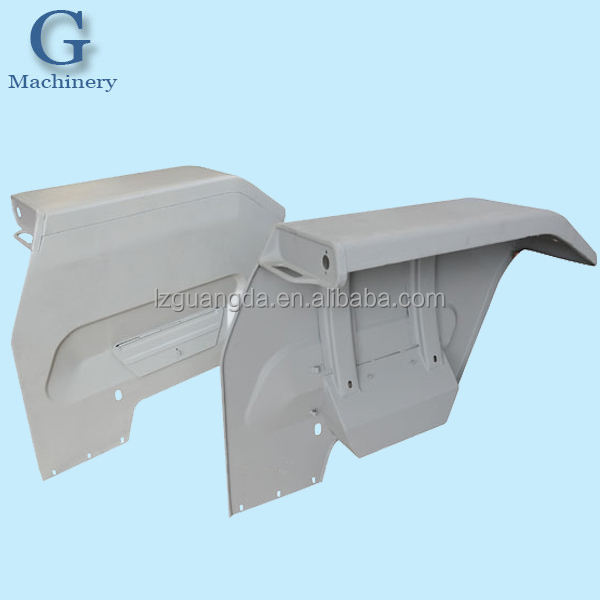 Custom Metal tractor fender manufacture