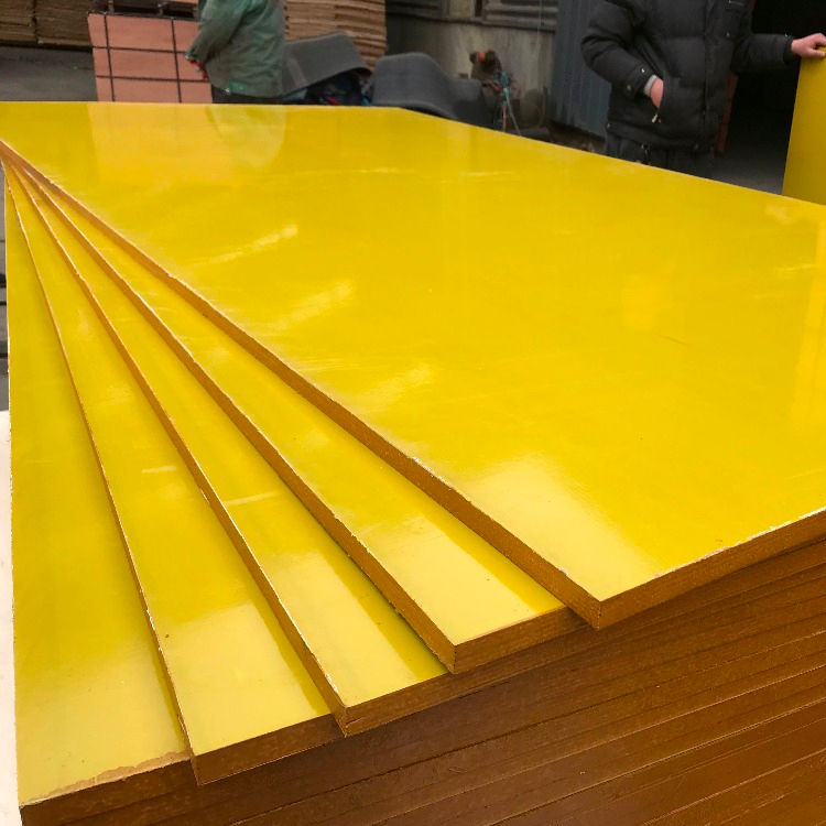 18mm Plastic plywood/plastic plywood sheet for construction with more than 30 times recycling