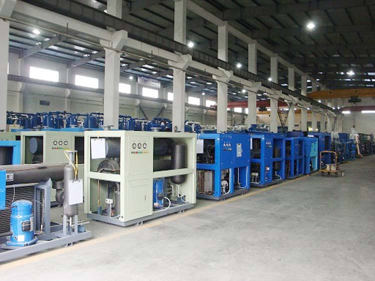 Water Industrial Chiller 30 Ton Water-cooled Screw Type Industrial Water Chiller