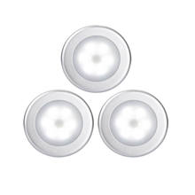battery powered with sticker 6 led lights motion sensor