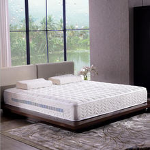 High quality and environmental coconut mattress with detachable serta memory foam mattress topper