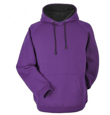 plus size clothing trendy mens hoodies low moq no zipper hoodies pullover purple fleece custom hoody with own logo