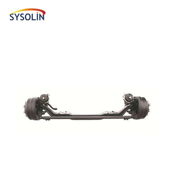 2017 Automobile truck trailer front drive steer axle from China factory