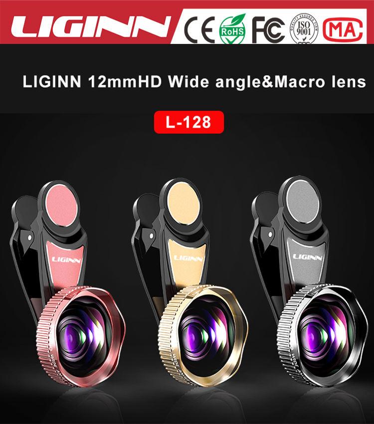 LIGINN factory outlet 12mm HD grande angular + kit lente macro 20x