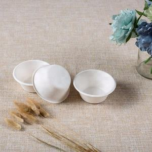 sugarcane bagasse disposable biodegradable paper soup bowl
