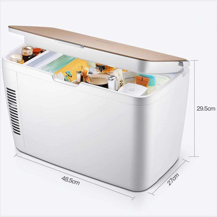 13L mini refrigerator with compressor 12v mini bar fridge