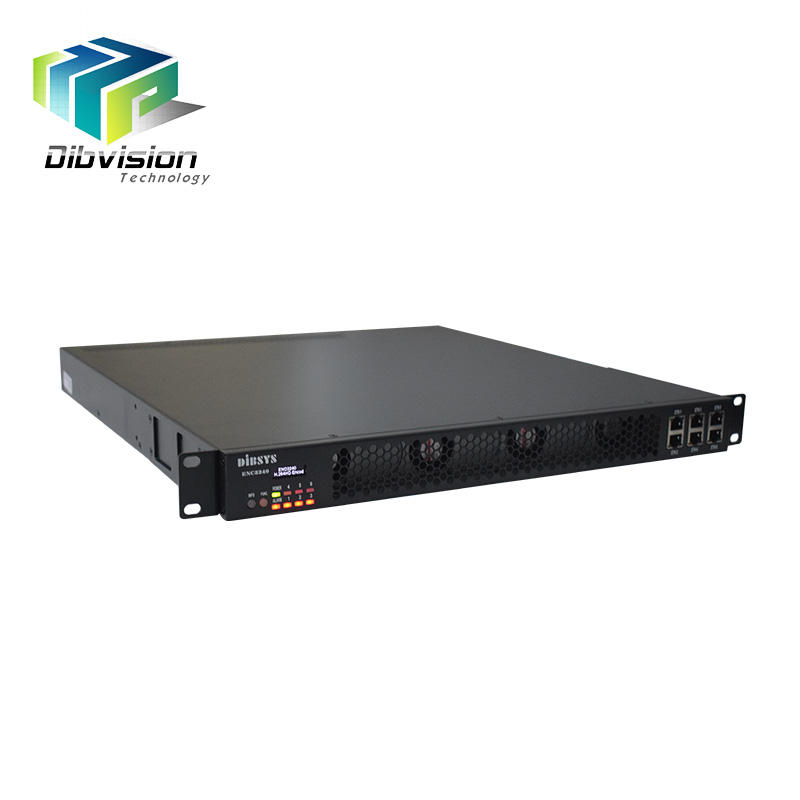 Hoge prestaties MPEG-4 AVC digitale tv encoder plug-in 6 module elke module met 4 HD-SDI of HD-MI