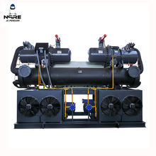 100HP Low Temperature  industrial water cooled chillers unit