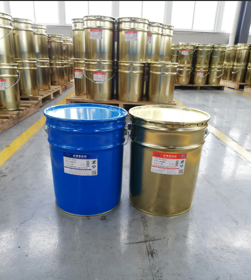 ZB-2806A/B glue components epoxy resin and hardener