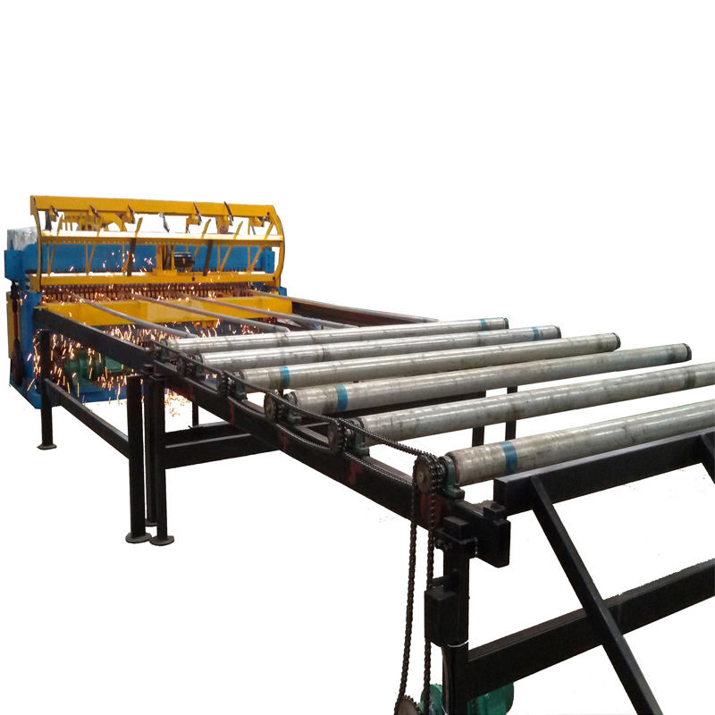 Full Automatic Chicken Cages Welded Wire Mesh Panel Machine