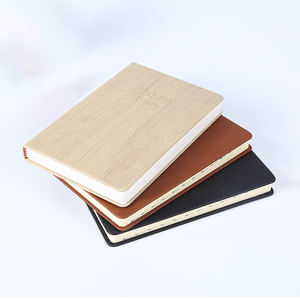 A5 year planner embossed pu leather cover agenda organizer journal custom printing notebook