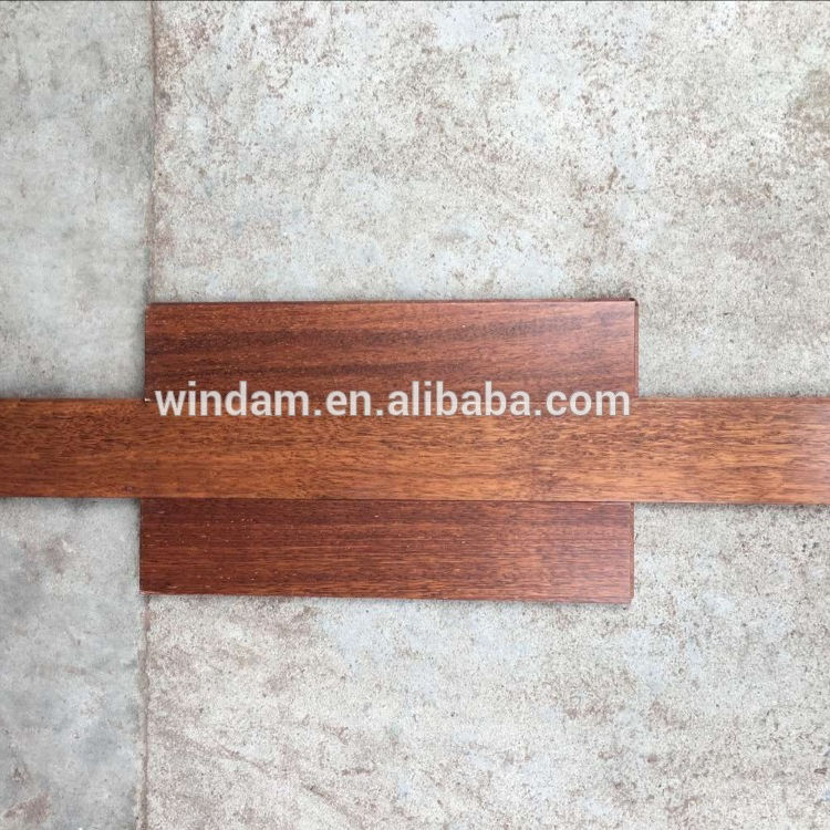 Quality natural prefinished solid merbau wood flooring