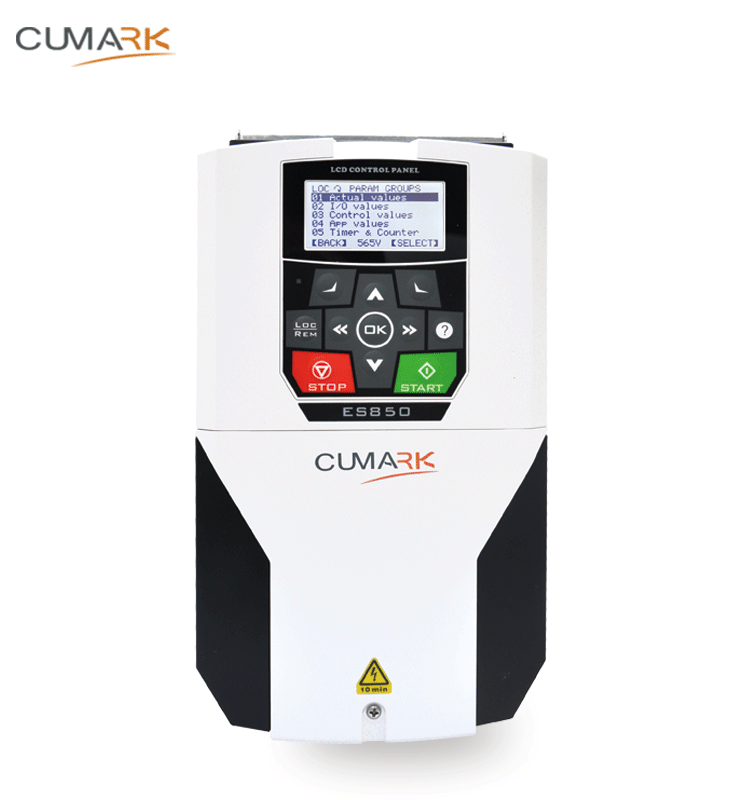Cumark ES580 Multi-function close loop Torque control frequency converter with LCD keypad