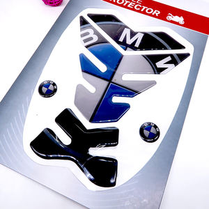 LIWENCUI Color : A Tanque de la Motocicleta Protector del coj/ín Decal Pegatinas for Yamaha FZ1