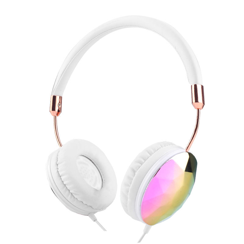 New fashion China 3.5mm jack wired mobile phone stereo silent disco headphone factory wholesale