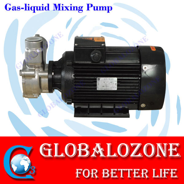ozone water reactor mixer PUMP with stainless steel tank