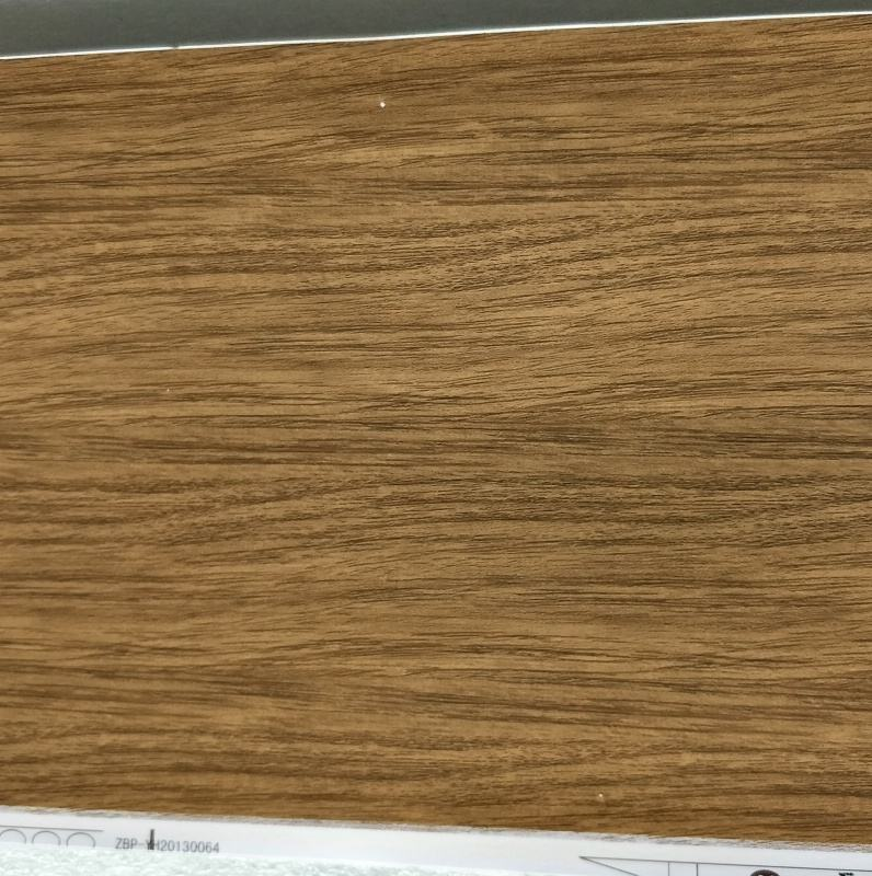 Wood Texture Heat Transfer Film Hot Stamping Foil For WPC Door Cover Line