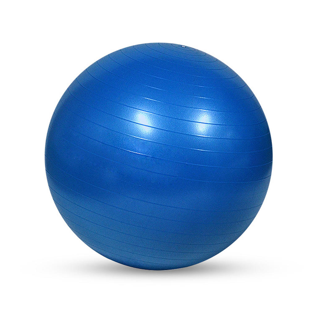 Exercise PVC Massage 65cm Anti Burst Gym Custom Printed Yoga Ball