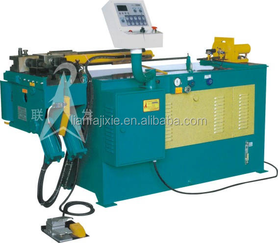 CA-081 Automatic hydraulic tube bender,bending machine,tube,sheet metal,manual,3 rollers