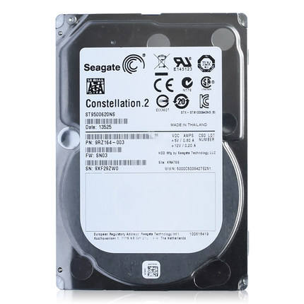 500GB 7.2K 2.5'' SATA Seagate ST9500620NS Hard Disk for Server