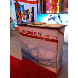 Colorful Customized Tradeshow SEG promotion counter