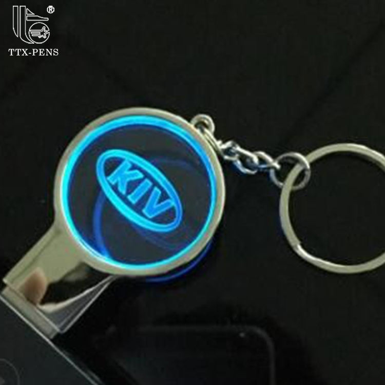 2019 Keychain Crystal 3D Custom logo USB Flash Drive
