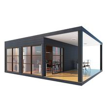 UPS cheap modern prefab house plan prefabricated houses container chinese home made video