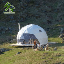 6m Dome Tourism Business Luxury Canvas Camping Tent House